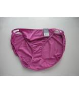 Vanity Fair Body Shine Illumination String Bikini Size 8/XL - $4.99