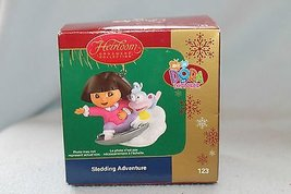 Carlton Sledding Adventure Dora Ornament - $14.84