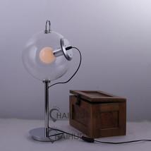 Philips Globe Clear Glass Desk Table Lamp E27 Light Home Lighting Fixture Gift - $88.15