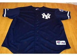 NEW YORK YANKEES WORLD SERIES STITCHED MLB JERSEY XL - $49.50