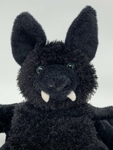 "Ganz Webkinz Black Bat Plush Stuffed Animal HM367 No Code 8"" Tall - $7.92"