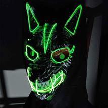 New Halloween LED Streamer Full Face Masks For Men And Women - $32.50