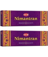 Hem Nimantran Incense Stick 2 Pack of 50 Stikcs Each Free Shipping - $13.75