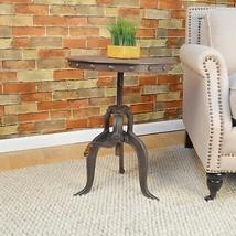 Carbon Loft Baird Cast Iron/Metal Adjustable Crank Accent Table - $230.67