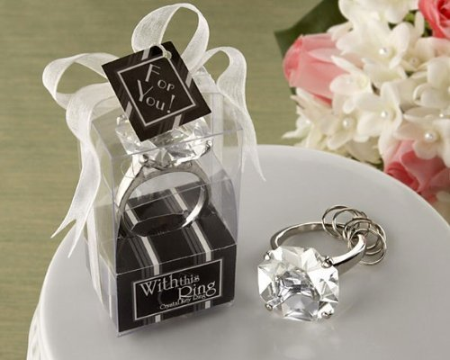 Primary image for With This Ring Engagement Ring Keychain -96 count