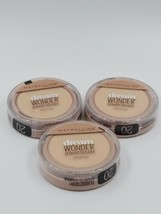 Maybelline New York Dream Wonder Power #20 Classic Ivory Set of 3 Brand New  - $16.09