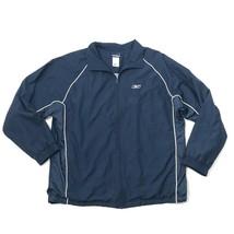 REEBOK Track Jacket Mens Size XL Extra Large Warm Up Windbreaker Athleti... - $23.53