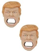 US President Donald Trump Soda Beer Bottle Cap Opener Fridge Magnet Set ... - $22.99