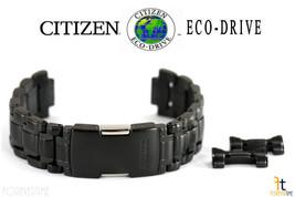 Citizen Eco-Drive BL8097-52E 22mm Noir/Gris Ton Inoxydable Acier Bracelet de - $231.39