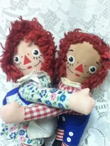 1970s Knickerbocker, Rare,  Raggedy Ann and Andy Embraceable - $23.70