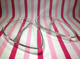 Fun 1950's Mid Century Modern Boomerang Divided Tid Bit Snack Glass Dish... - $12.00