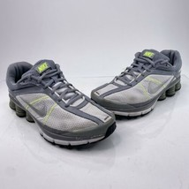 Nike Shox Turmoil 2 Women's Size 10 Grey Running Sneakers Shoes 389568-100 - $39.56