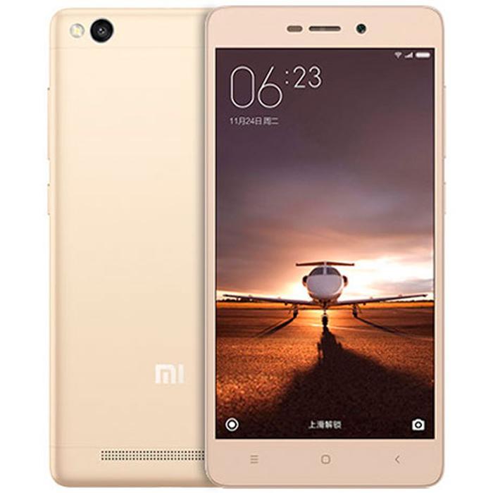 """Xiaomi redmi 3 octa core gold 2gb 32gb 5.0""""hd screen android 5.1 4g smartphone"""