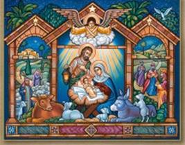 "Come Let Us Adore Him Icon - 10"" x 8"" print - $27.95"
