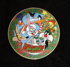 Looney Tunes Christmas Plate 1991 Home Décor Warner. Bros. - $26.00