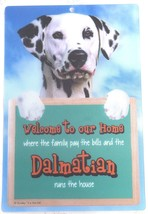 3D DALMATION DOG WELCOME SIGN STUNNING EYE CATCHING 23CM X 15CM DOG SIGN - $5.18