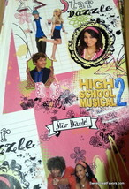 High School Musical Wrapping Paper Sheet Gift Book Cover Party Decoration x2 NEW - $12.82