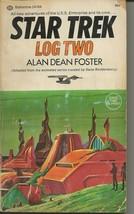 Star Trek Log Two ORIGINAL Vintage 1974 Paperback Book Ballantine Alan D... - $19.79