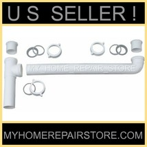 "END WASTE OUTLET 1+1/2 "" KITCHEN SINK DRAIN CROSS OVER ASSEMBLY - FREE S&H - $14.35"