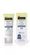 Neutrogena Sheer Zinc Face Dry-Touch Sunscreen Broad Spectrum SPF 50 2 F... - $12.13