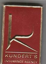 Vtg Strike on Match Box with local ad & sticks ~ Kundert's Insurance Agency - $9.89