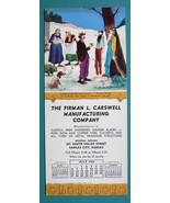 INK BLOTTER 1952 - Webb's Hillbillies Newborn & AD Kansas Co Firman L. C... - $4.49