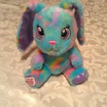 Build a bear bunny rabbit floppy ears mini rainbow multicolor 7 in - $12.99