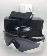 4af1a5c3111 New Oakley M2-FRAME Xl Sunglasses OO9343-01 Black Frames With Grey Lens -