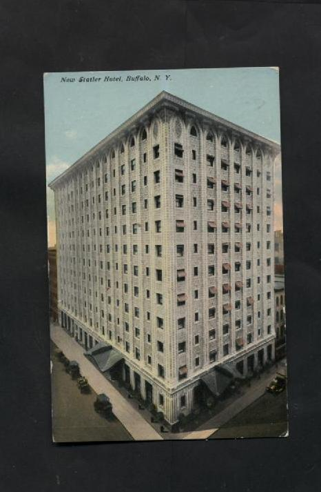 Vintage 1900s Postcard 1918 New Statler Hotel Buffalo New York NY