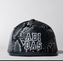 ADIDAS ORIGINALS Headwear HAT Trucker CAP AB2987 Snake Print BACK SNAP OSFW - $79.97