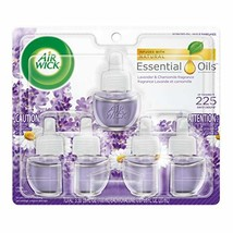 Air Wick Scented Oil Refill, Lavender and Chamomile,5X0.67oz Pack of 6