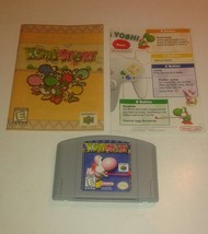 Yoshi's Story (Nintendo 64, 1998) w/ Manual - $28.01