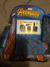 Marvel Avengers Infinity War 5 Piece Backpack Set - $19.80