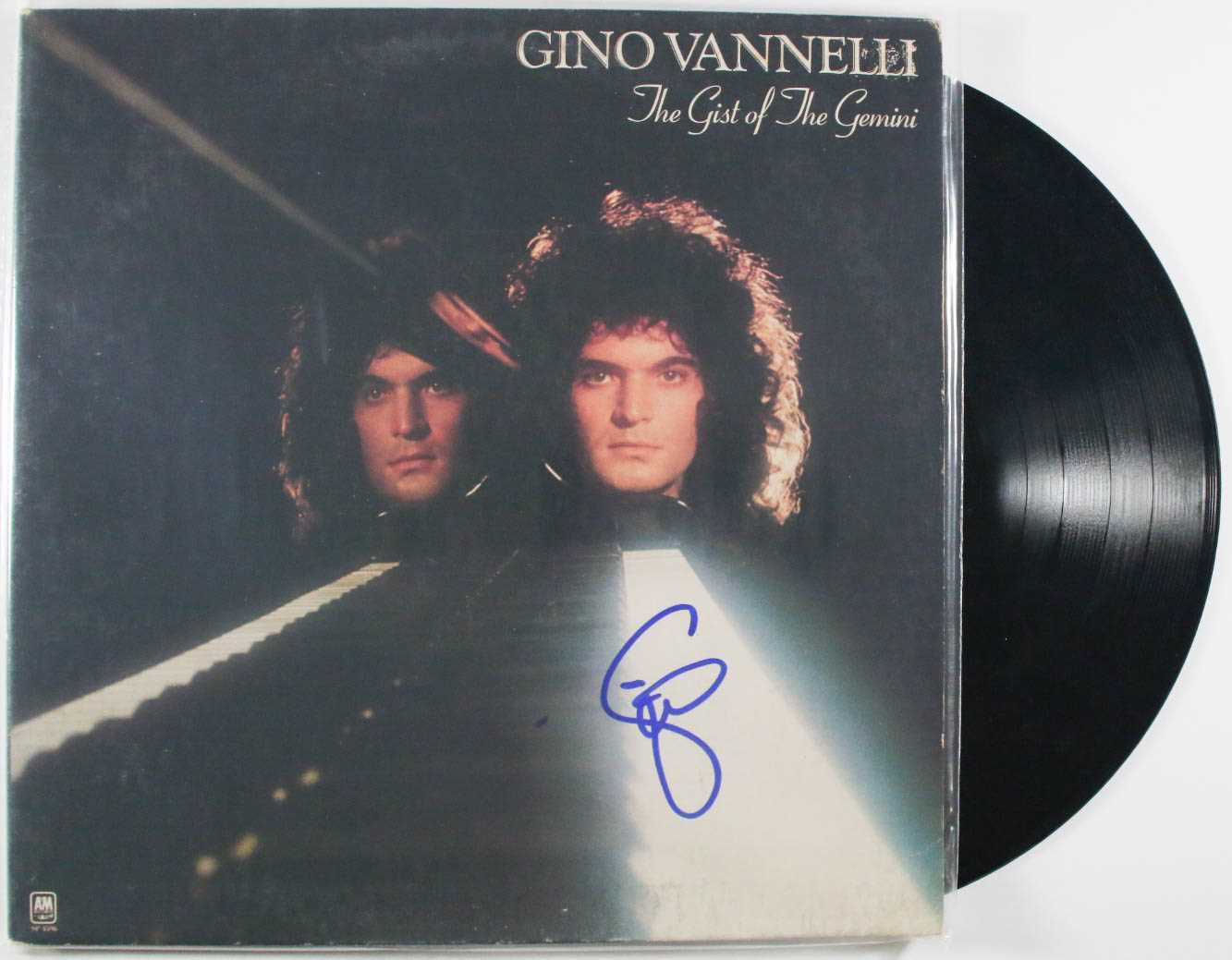 "Primary image for Gino Vannelli Signed Autographed ""The Gist of the Gemini"" Record Album"