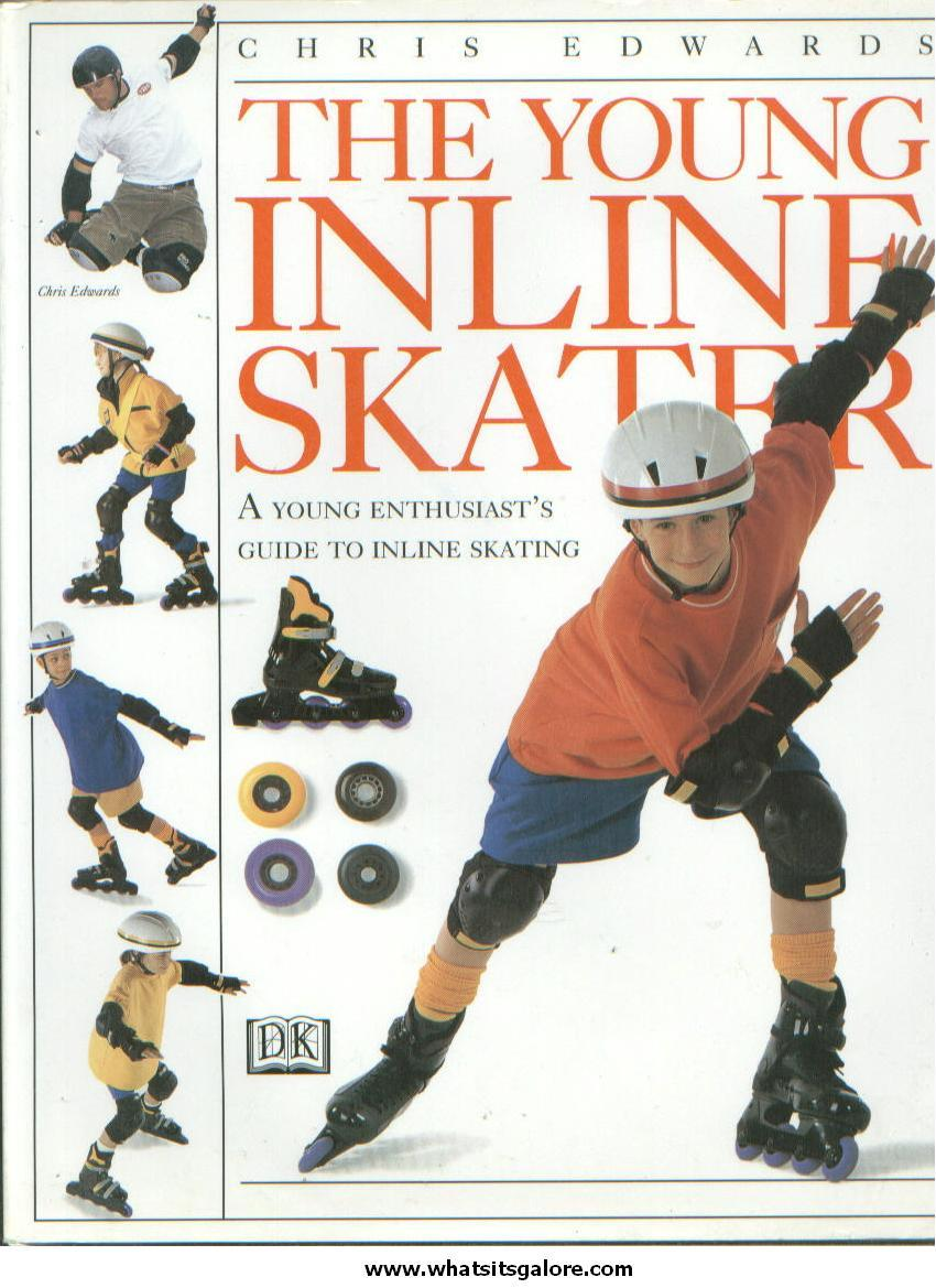 hardcover book YOUNG INLINE SKATER by Chris Edwards DK