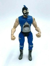 TNA Sharkboy Wrestling Action Figure Blue Black Silver 2005 Marvel - $19.99
