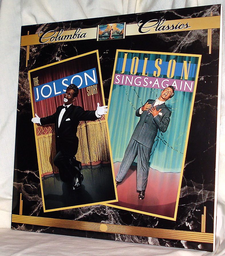 Larry Park's Double Life in 'Jolson Story'/ 'Jolson Sings Again' on Mint Laser
