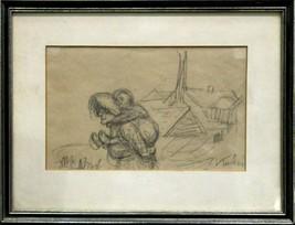 Alfred Kubin Original Graphit Zeichnung Ex Dorotheum Angebot - $650.78