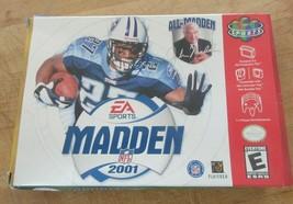Madden NFL 2001 (Nintendo 64, 2000) - $16.82