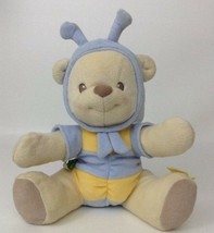 "Winnie The Pooh 10"" Baby Rattle Bee Bear Plush Stuffed Toy Fisher Price ... - $12.42"