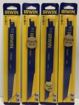 "(New) IRWIN  9"" 10 TPI Reciprocating Saw Blades  372960 Lot 4 - $25.73"