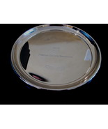 Chevron Gas Souvenir Collector Plate Tray Canada Resources 50 Anniversary  - $19.95
