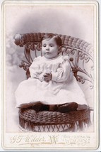 Ella Putnam Cabinet Photo of Charming Baby - Keene, New Hampshire - $17.50