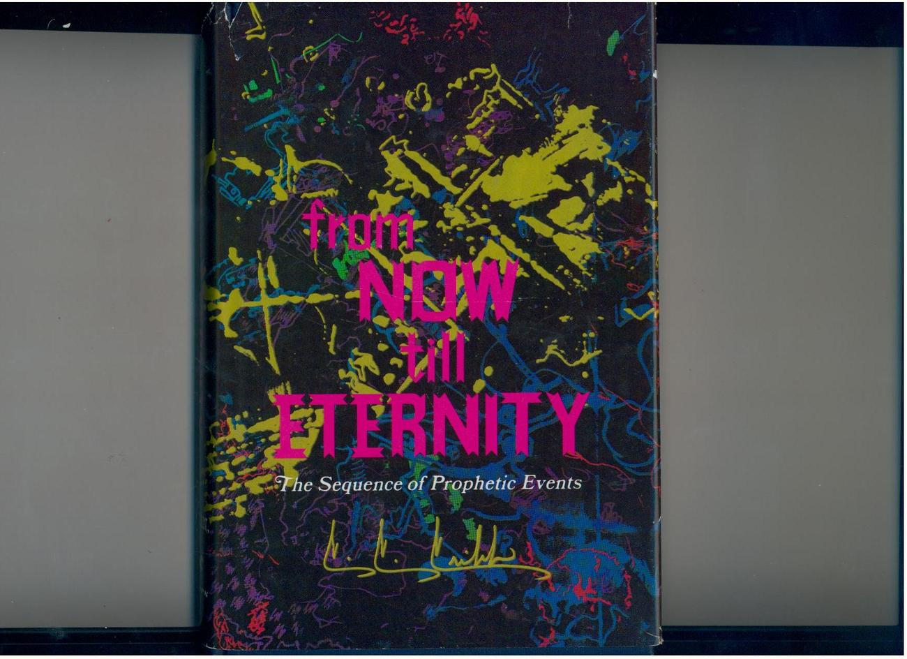 C.C. Cribb--FROM NOW TILL ETERNITY--1976--signed