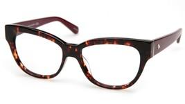 New Kate Spade Aisha P4O Havana Eyeglasses Frame 54-16-135mm - $83.29