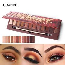 UCANBE Brand New 12 Colors Molten Rock Heat Eye Shadow Makeup Palette Sh... - $14.52