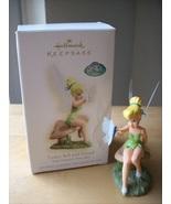 2008 Disney Hallmark Tinker Bell and Friend Ornament  - $35.00