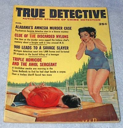 Primary image for True Detective Crime Magazine August 1961 Al Capone story