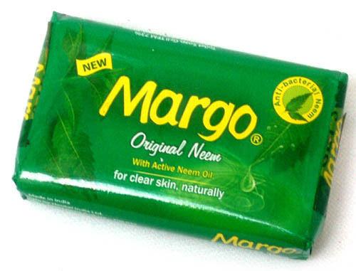 Margo Original Neem Soap - 75g  with active Neem Oil +3