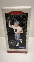 1996 Hallmark Keepsake Ornament Football Legends Troy Aikman - Cowboys - $9.85